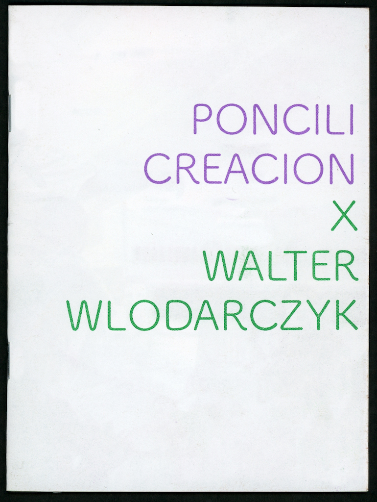 Endless Editions Poncili Creacion x Walter Wlodarczyk
